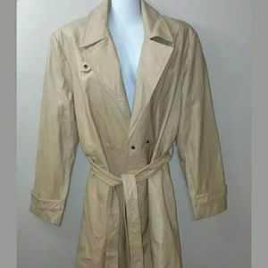 Torrid stunning faux leather trench coat